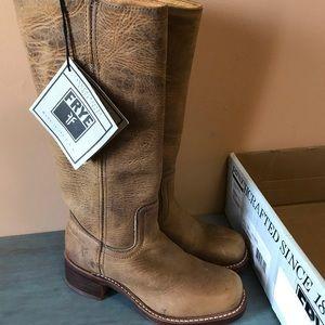 8986eb6260c Frye Campus 14L Dark Brown Leather Boots